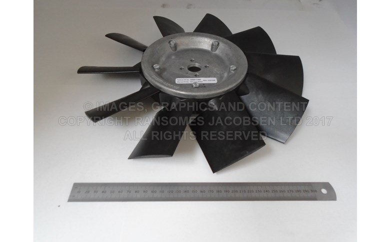 006911360 FAN-370MM DIA, 10 BLADE PUSHER