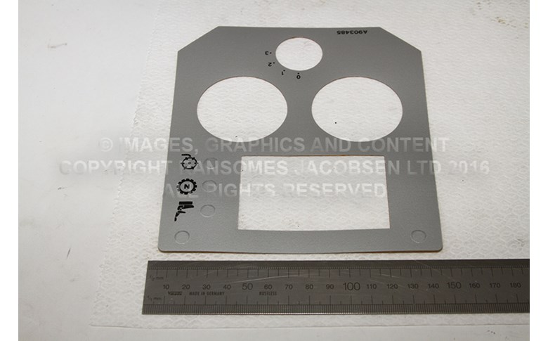 009034850 CONSOLE DECAL