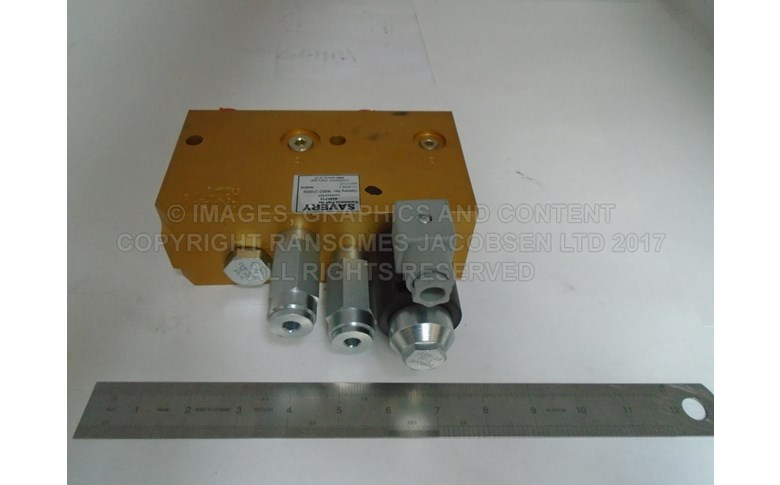4245715 CUTTER VALVE- RIGHT HAND WING DECK